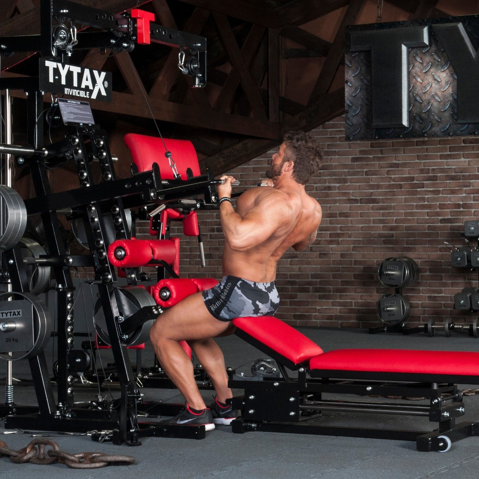 Tytax M2 Home Gym - Best Home Gyms for Bodybuilding
