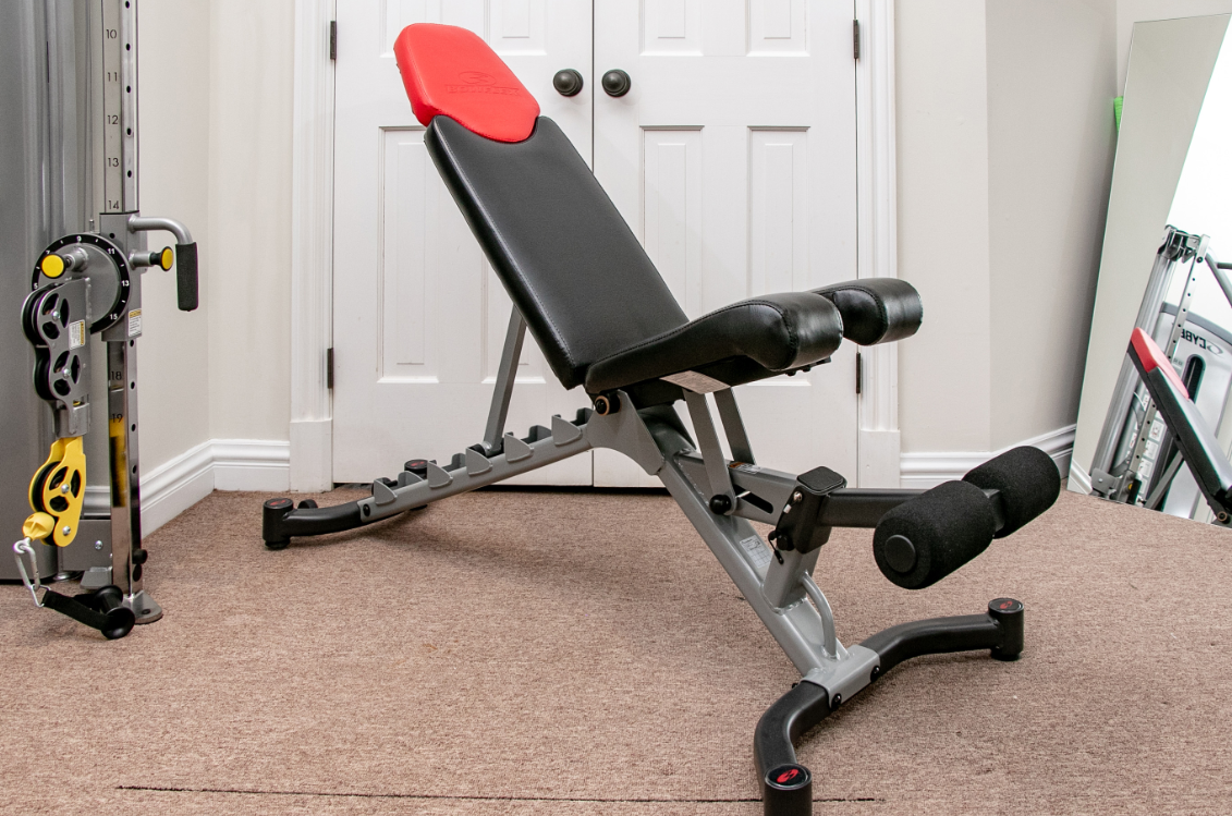 Adjustable Weight Bench - The Bowflex 5.1 - The Best Home Gym Setup For Weight Lifters