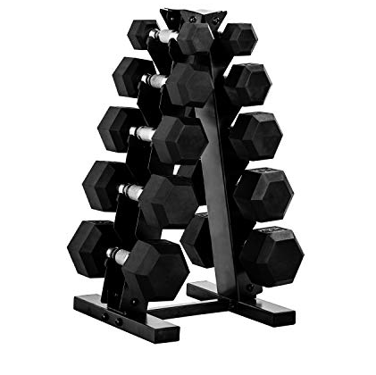Dumbbell Weight Stand - CAP Standard A-Frame Rack - The Best Home Gym Setup For Weight Lifters