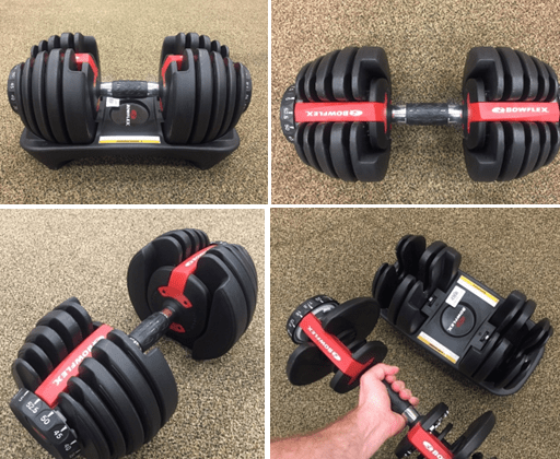 Dumbbells - Bowflex SelectTech 552 Weights - The Best Home Gym Setup For Weight Lifters