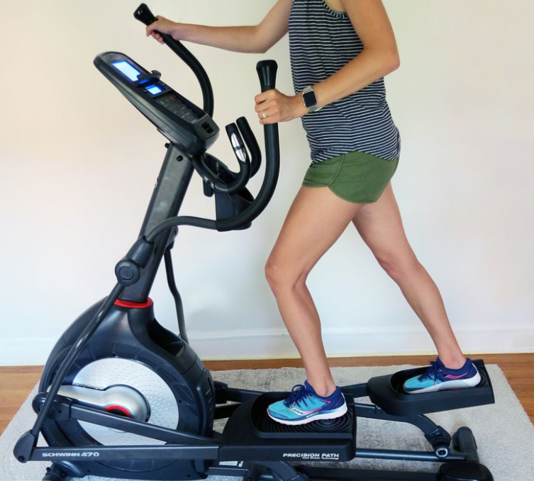 Elliptical - The Schwinn 470 - The Best Home Gym Setup For Fit Lifters, Cardio Enthusiasts & Women
