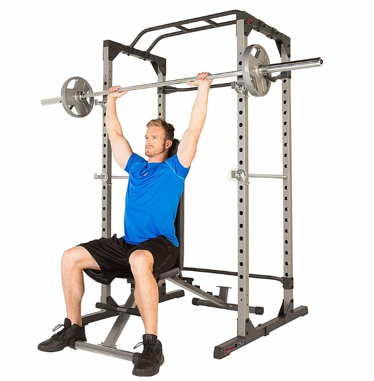 Power Cage - Squat Rack - Fitness Reality 810XLT - The Best Home Gym Setup For Weight Lifters