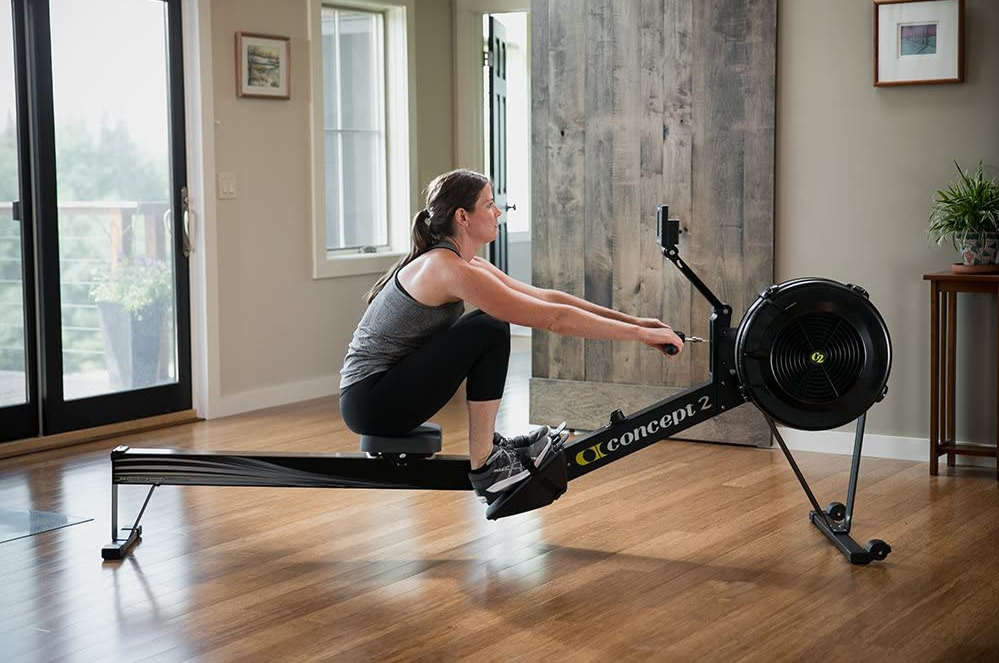Rowing Machine - The Concept2 Model D - The Best Home Gym Setup For Weight Lifters
