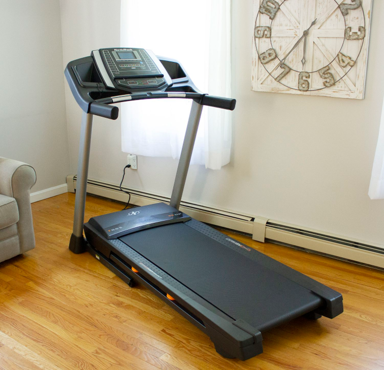 Treadmill - NordicTrack T Series - The Best Home Gym Setup For Fit Lifters, Cardio Enthusiasts & Women