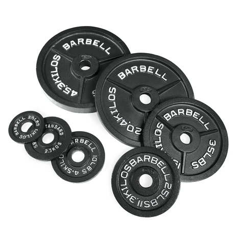 Weight Plates - CAP Barbell Weights - The Best Home Gym Setup For Weight Lifters