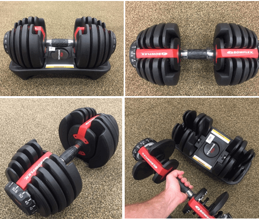 best adjustable dumbbells for small space