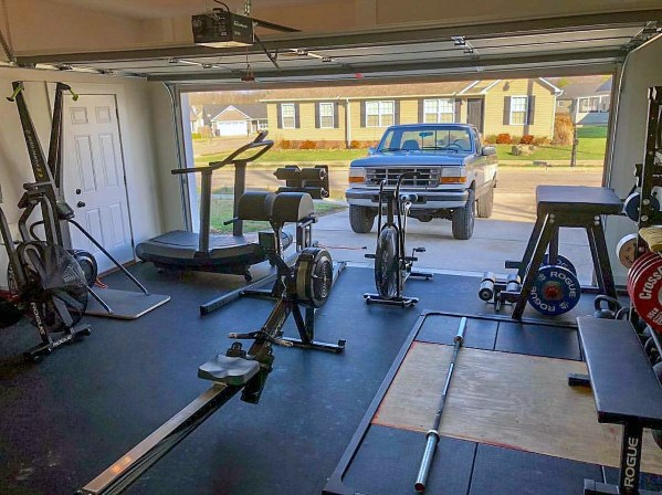 best cardio and weight lifter home gym setup