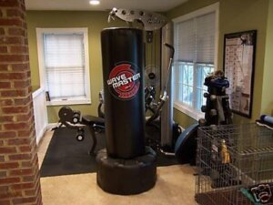 century wavemaster xxl punching bag in home gym