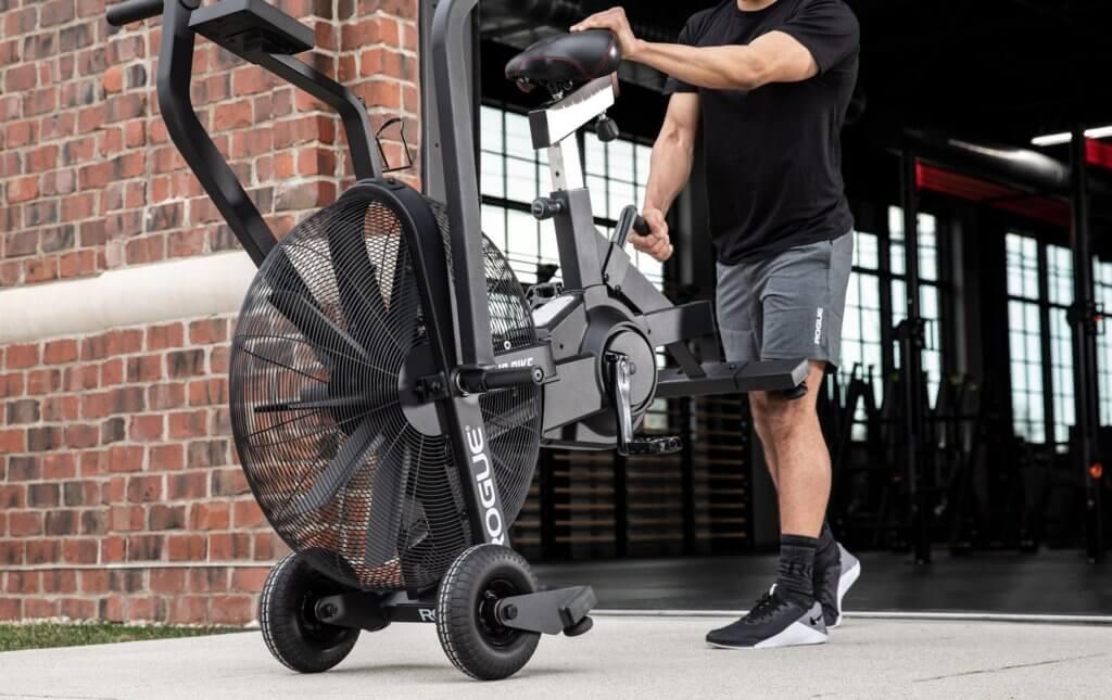 compact and portabilty of rogue echo bike