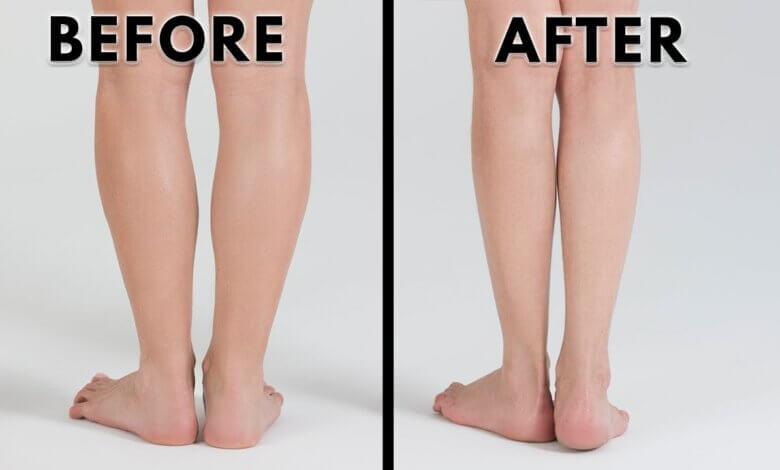 how to make calves smaller