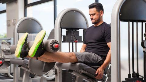 leg extension exercise