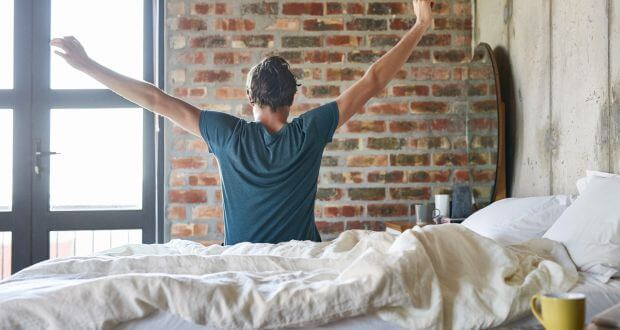 you should weigh yourself in the morning because you will weigh less after sleep