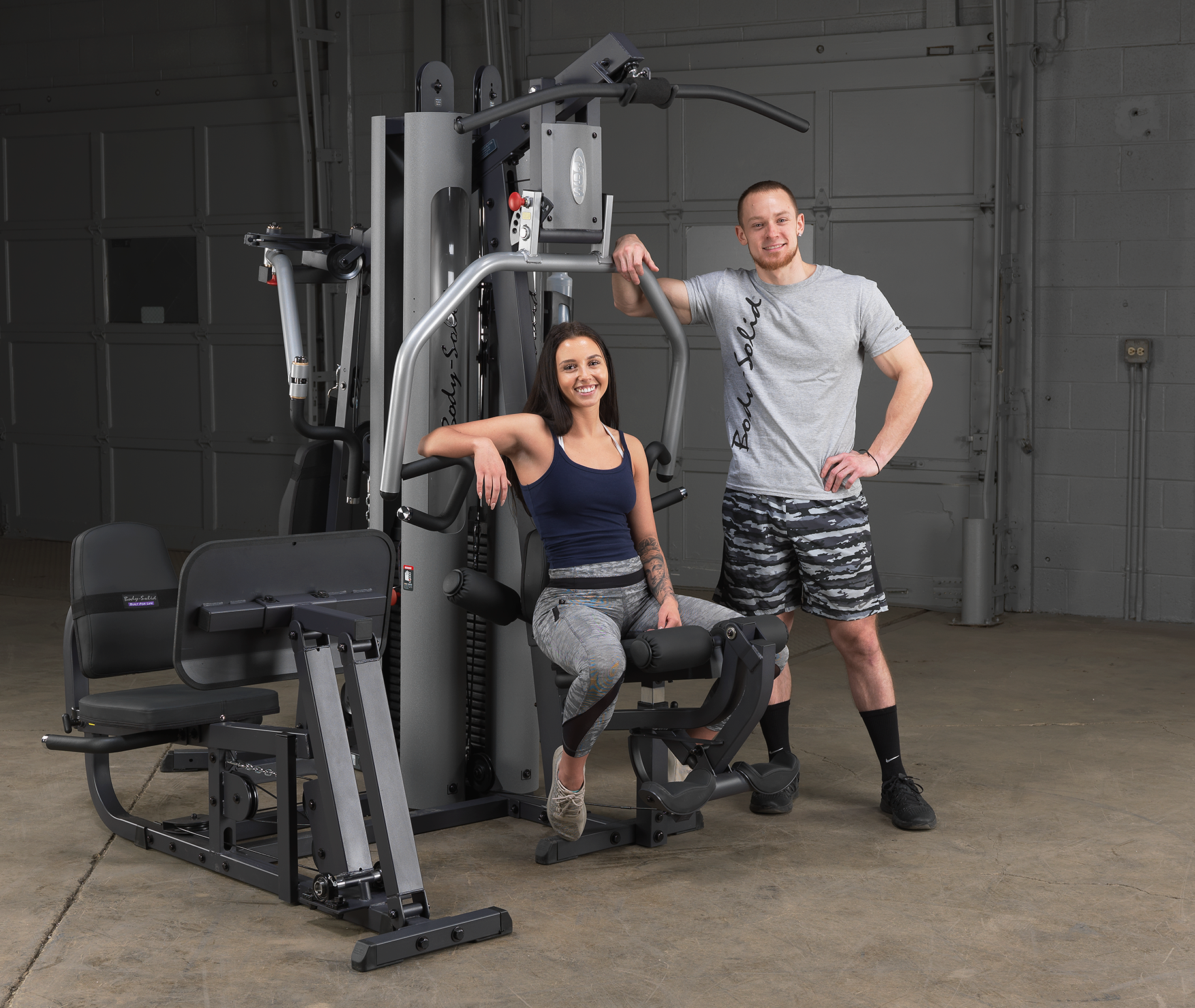 the third entry on our list is the best bang for your buck the G9S Home Gym from Body-Solid