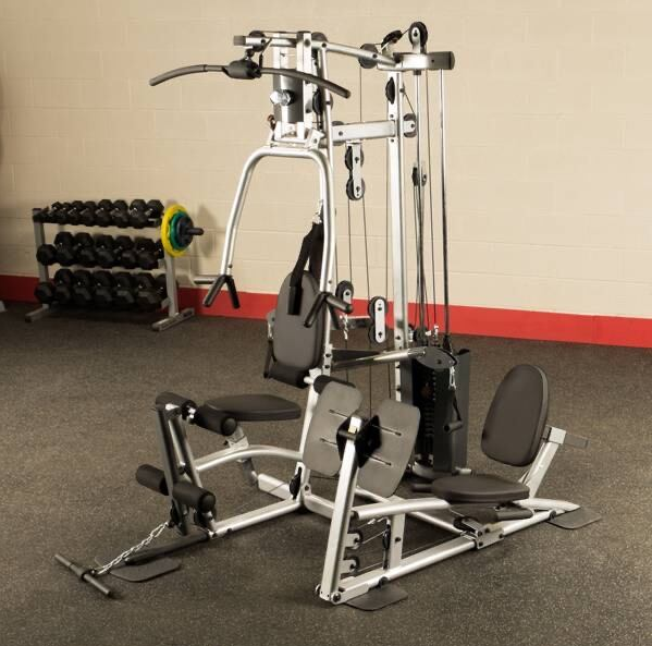 the fourth item on our list is the Lightest Home Gym with Leg Press the P2X Home Gym from Body-Solid