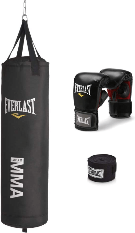 Everlast 70-Pound MMA Heavy-Bag Kit - Best Hanging Heavy Bags for Teenagers