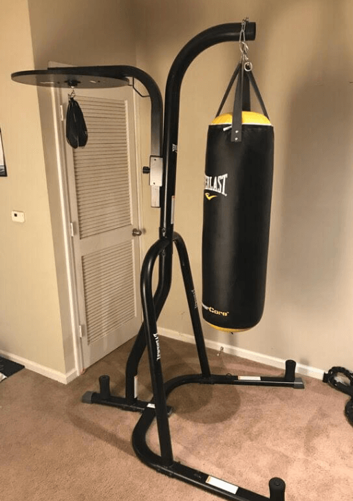 Everlast Dual Station- Best Bang for Buck Bundle -Best Hanging Heavy Bags for Apartments