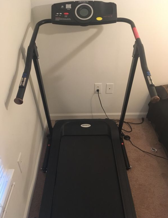 second entry on our list of best Small Treadmills for Seniors the Exerpeutic TF1000 Electric Treadmill