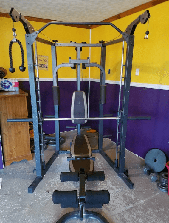 Marcy SM-4008 Smith Machine - Best Free Weight Multi Station Home Gym