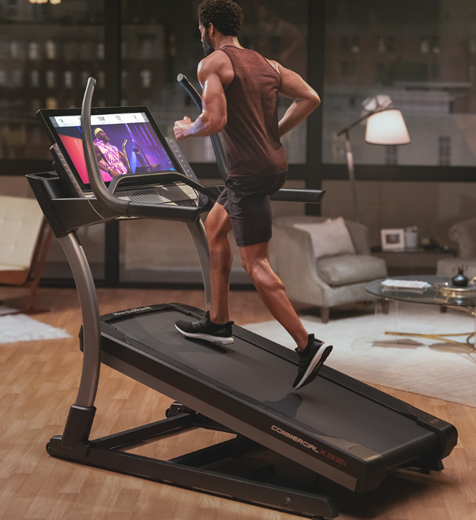 this is the best overall hybrid self propelled treadmill, the Nordictrack commercial x32i