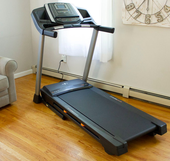 Our choice for the best Small Treadmills for Seniors the NordicTrack T 6.5 S Treadmill