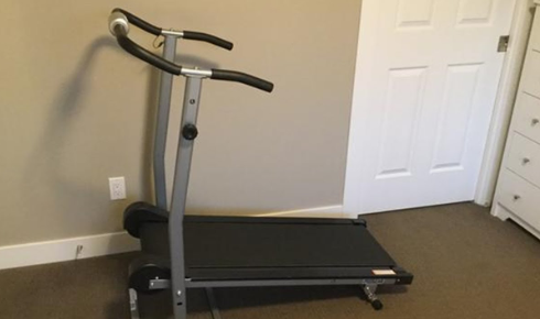 the most affordable option on our list the 190 Manual Treadmill from ProGear