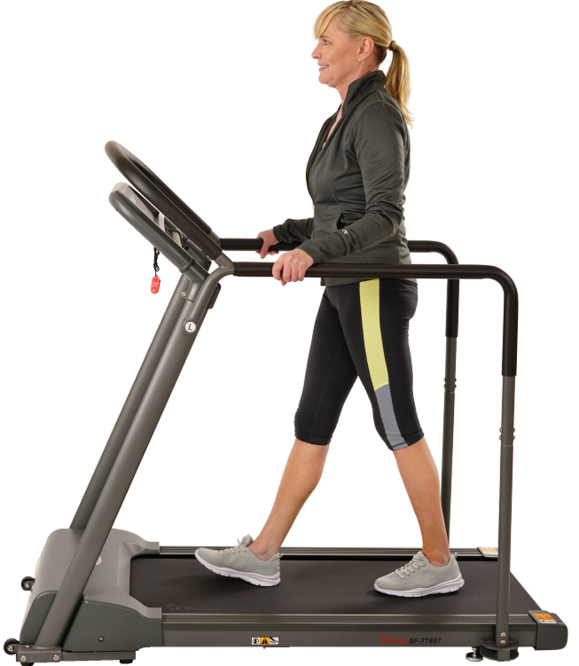 third treadmill we have is the SF-T7857 Walking Treadmill from Sunny Health & Fitness