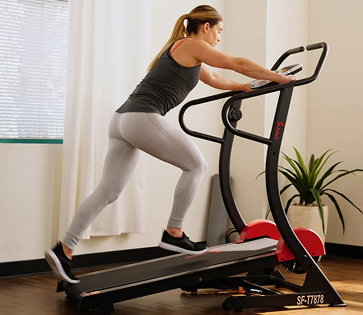 this is the best rated overall self-propelled manual treadmill. This treadmill is for people who are not shopping on a budget and want the best overall option