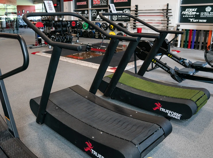 for the best overall slat belt self-propelled treadmill we have the trueform runner treadmill