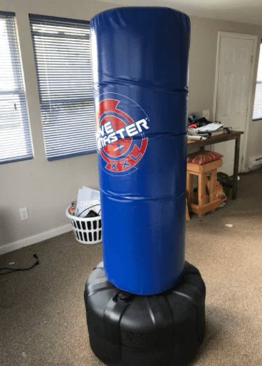 century wavemaster apartment friendly punching bag