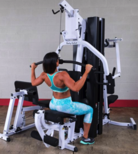 lat pulldown machine of our best multi station home gym