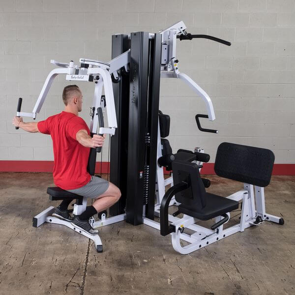 our top rated multi station home gym the bodysolid exm3000