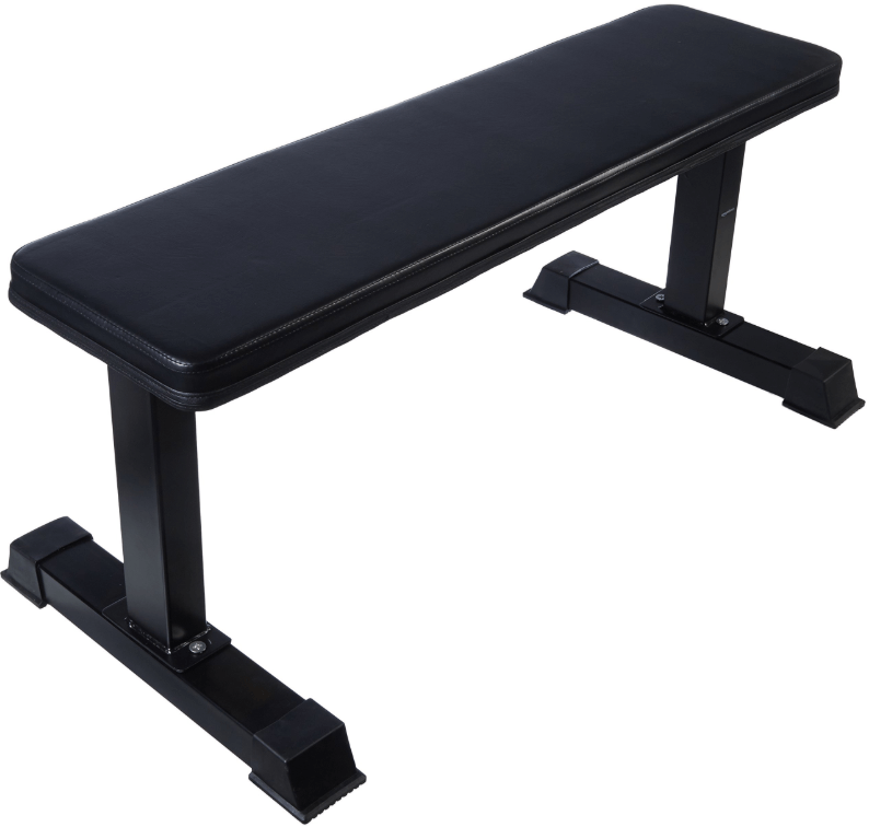 the second entry on our best flat weight benches for apartments list the AmazonBasics Flat Weight Workout Exercise Bench