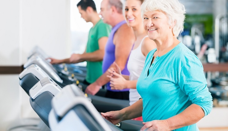 treadmill workout tips for seniors
