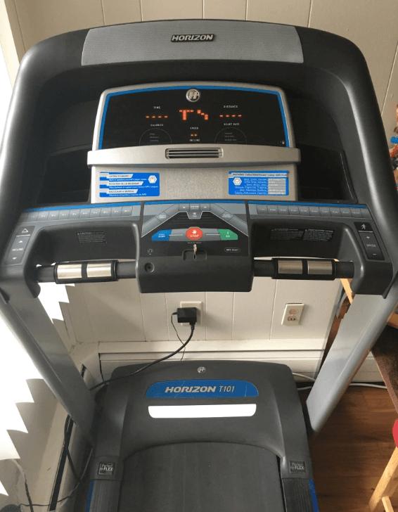The T101 Treadmill from Horizon Fitness