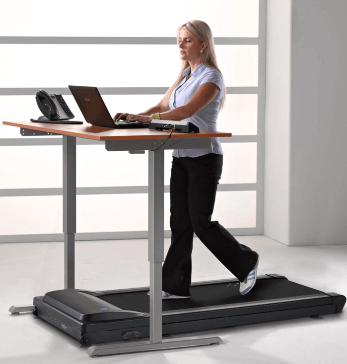 The TR1200-DT3 Under Desk Treadmill from LifeSpan