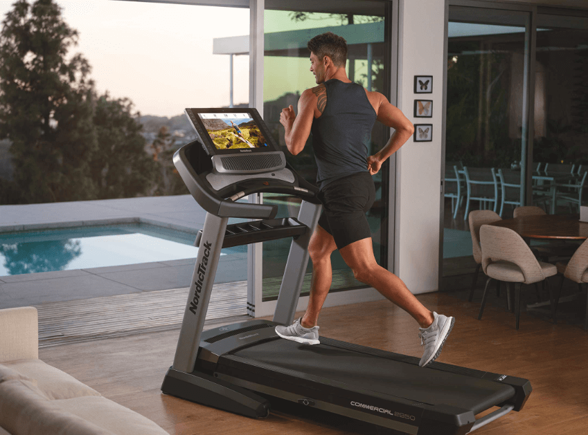 Our choice for the best treadmill with a screen is the Commercial 2950 from NordicTrack