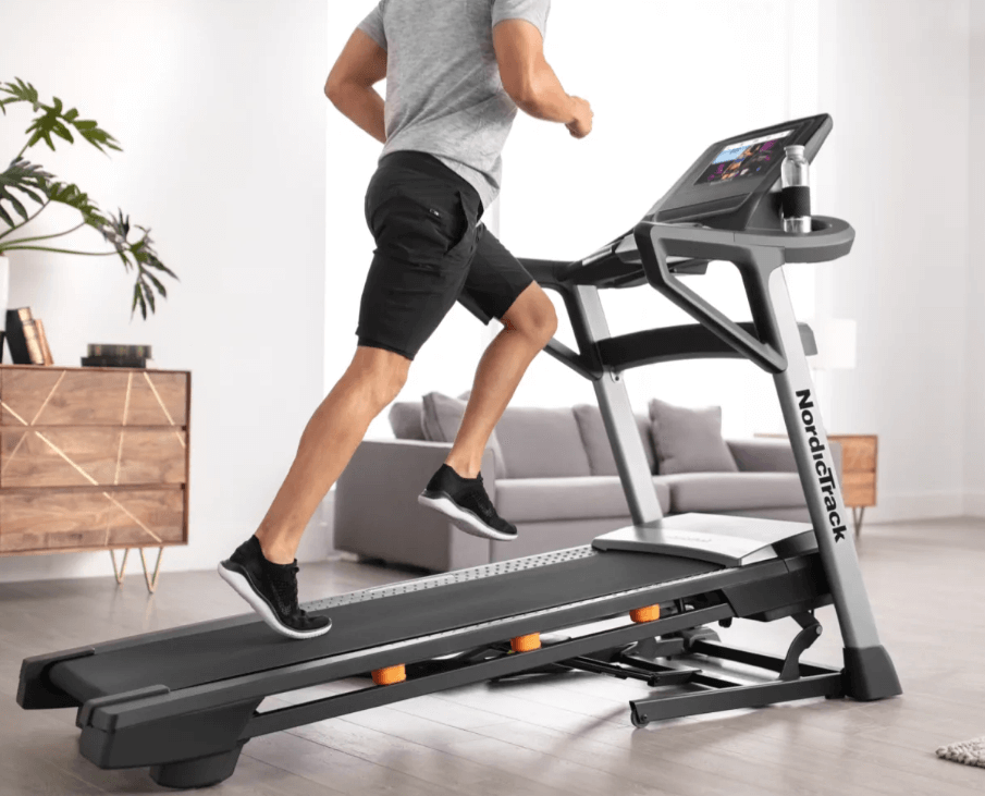 The best overall treadmill with a screen is the T 9.5 S from NordicTrack
