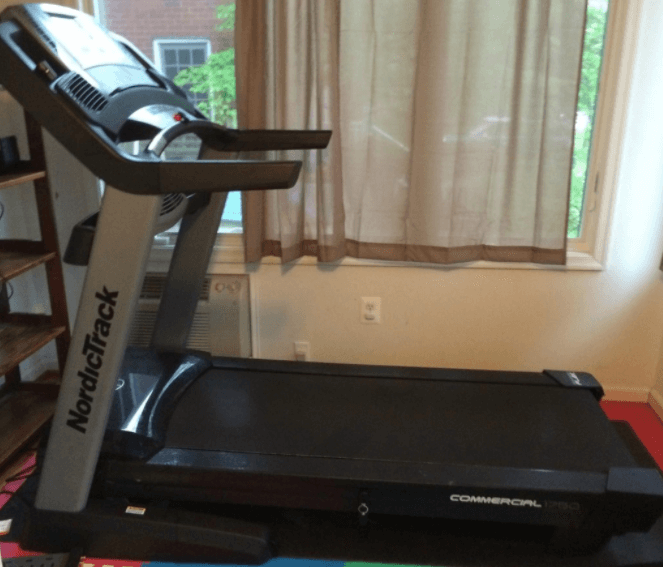 The Nordictrack Commercial 1750 is the best home use commerical Treadmill for Zwift