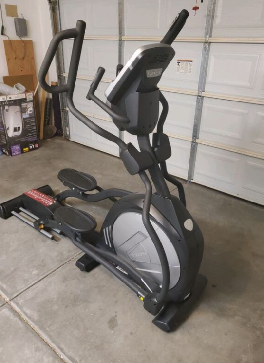 The Highest quality Elliptical on our list is the Sole Fitness E35 Elliptical Machine