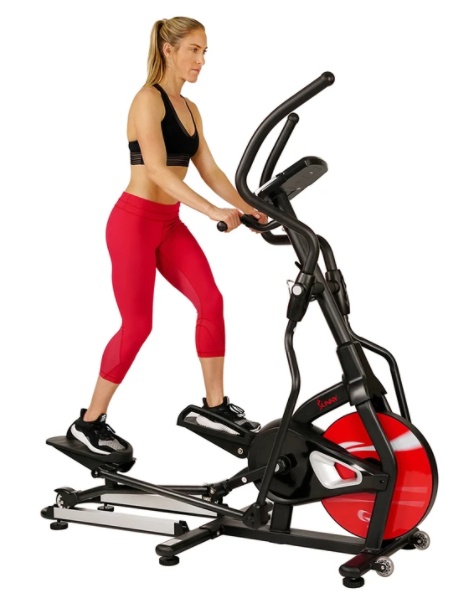 The Sunny Health & Fitness SF-E3865 Stride Zone Elliptical is a Good Budget Option