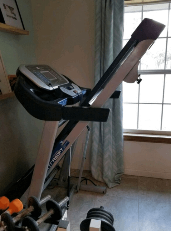 The TRX3500 Folding Treadmill works great with Zwift