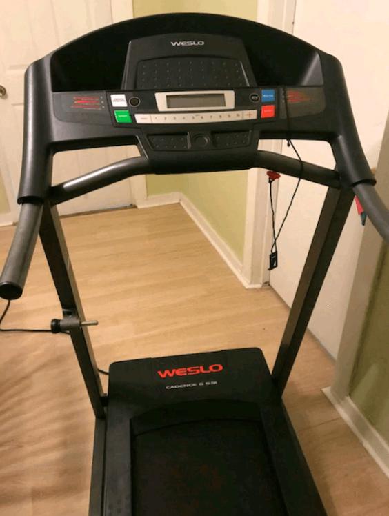 The Cadence G 5.9i Treadmill from Weslo