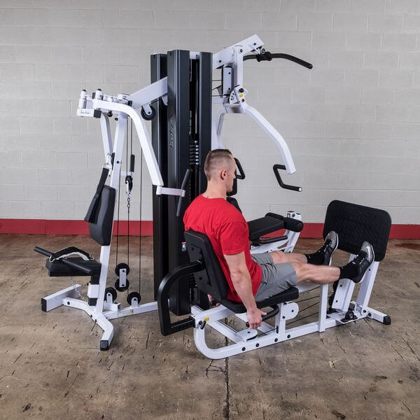 best rated home gym with leg press