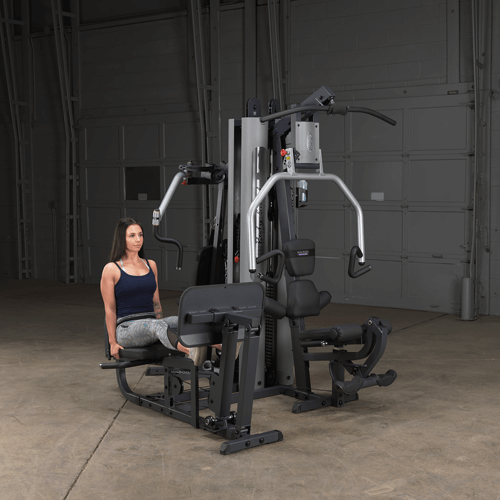 our best bang for buck option the bodysolid home gym with leg press machine