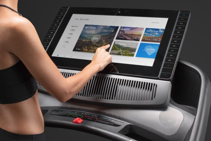 our top rated treadmill with screen
