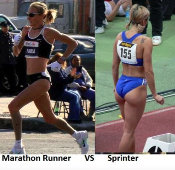 type of running makes your butt bigger