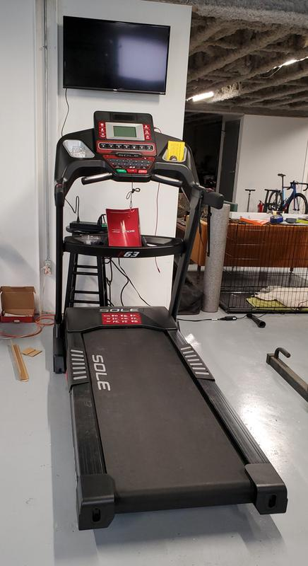 zwift treadmill setup