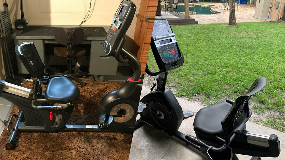 comparing the features of The Schwinn 270 and The Nautilus R616