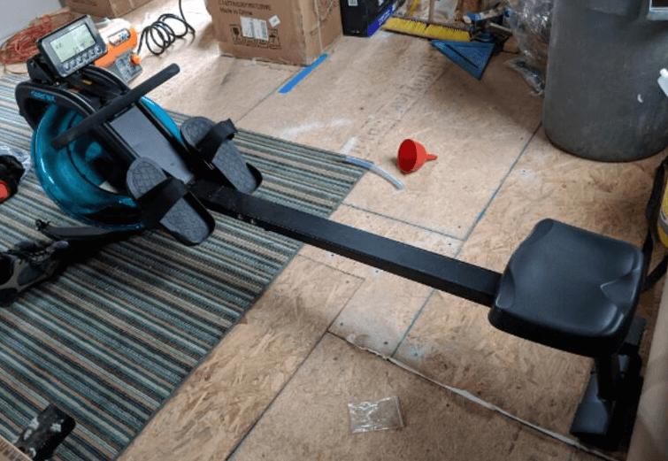 The Merax Water Rowing Machine