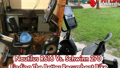Nautilus R616 Vs. Schwinn 270 – Finding The Better Recumbent Bike